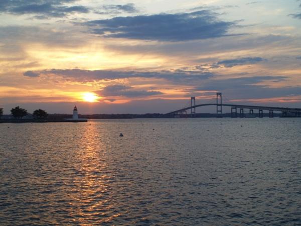 ~ Elegant Newport Sunset by LexEquine