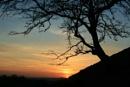 Sunset near Downham by SueKB