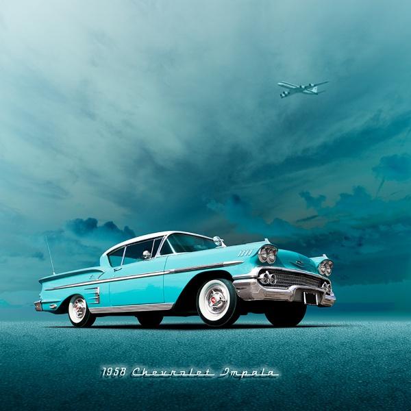 1958 Chevrolet Impala by arhb