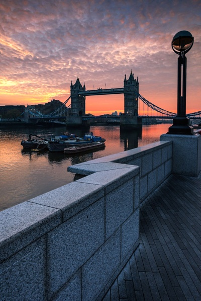 Tower Bridge from the South Bank by derekhansen