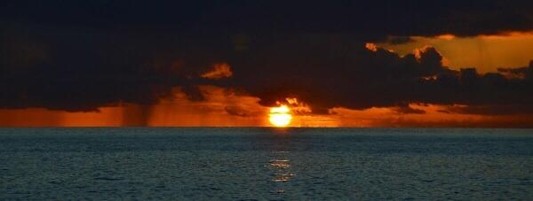 St Lucian Sunset V3 by hippysnapper