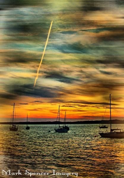 Poole Harbour - Sunset by sluggyboy