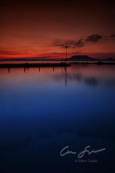 A piece of lake Balaton by gaborfoto