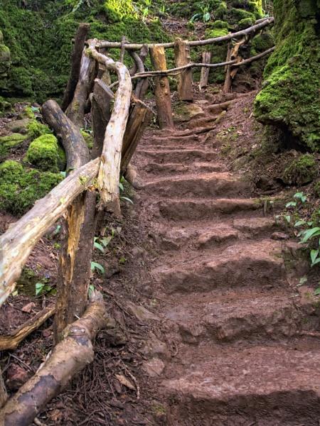 Crooked Steps by SandraKay