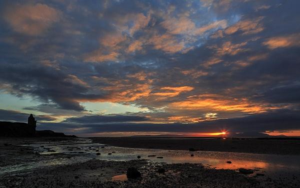 Greenan Sunset by karen61