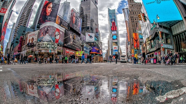 Times Square NYC by mikepearce