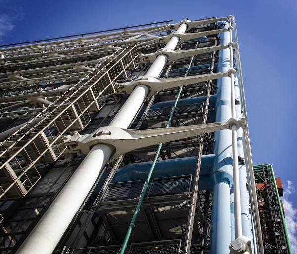 The Pompidou Centre - Paris by Philpot