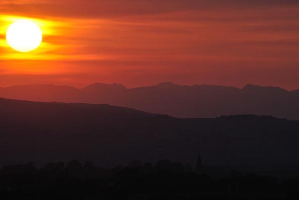Sunsetting on July evening by elizabethapike62