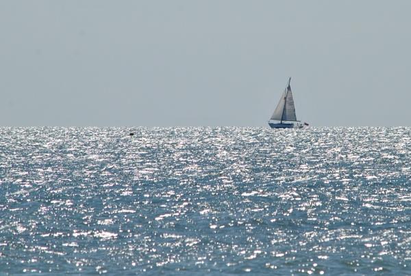 Boat in Distance by elizabethapike62