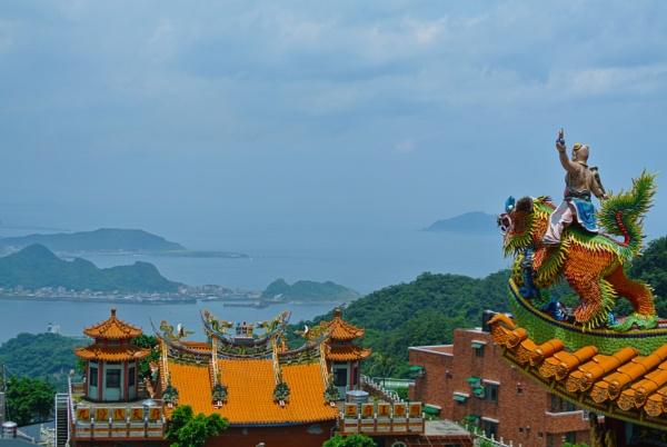 Temple - Jiufen, Taiwan by Lifeshots