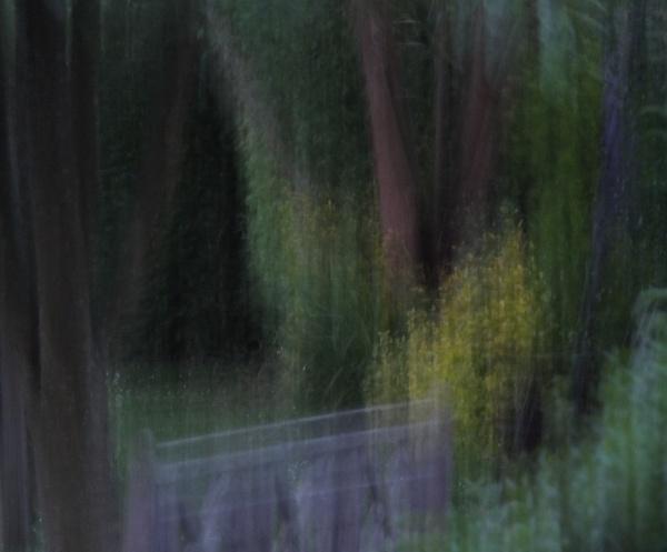 Garden Bench. by Mollycat