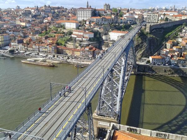 The Luís I Bridge Porto by smilly