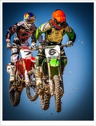 Spanish Moto X Championship in Albaida, Spain