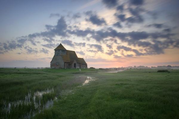 Romney marsh sunrise by rjlaker