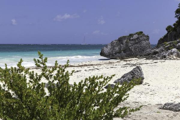Tulum ruins at Quintana Roo, Mexico by pdunstan_Greymoon