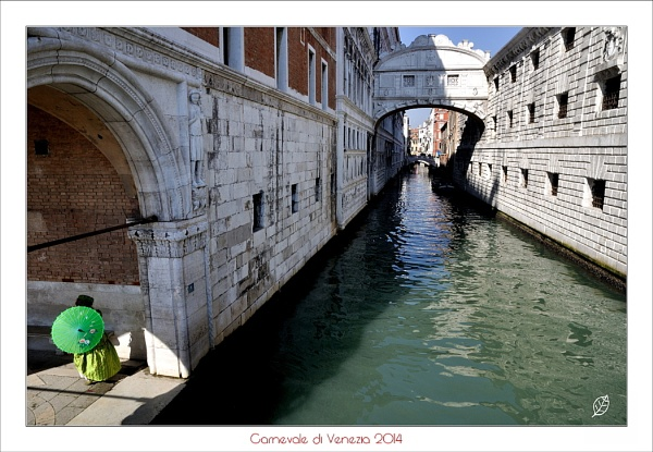 Venice in the days of carnival by Alfoja