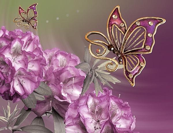 Butterfly Fantasy 1 by pamelajean