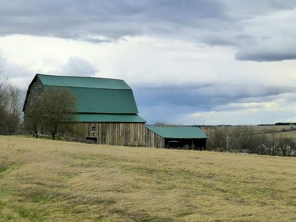 Barn 10  Aroostook County by Joline