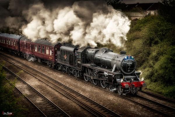 LMS Black 5 No 44932 by sherring