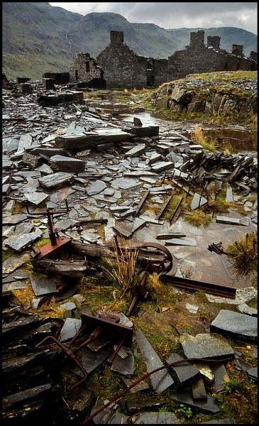 Croesor Slate Quarry. by Niknut