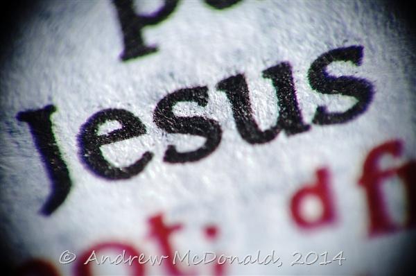 Jesus by andymcdonald