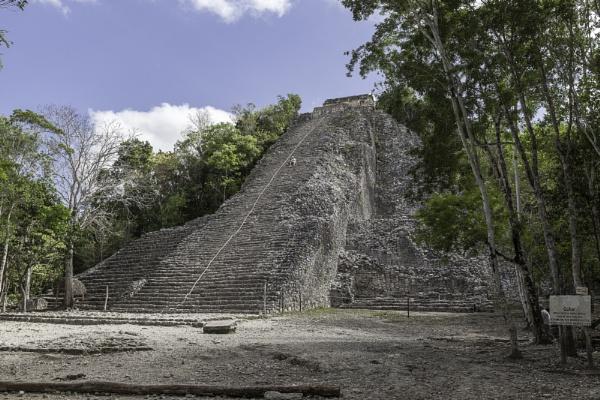 Mayan ruins at Coba by pdunstan_Greymoon