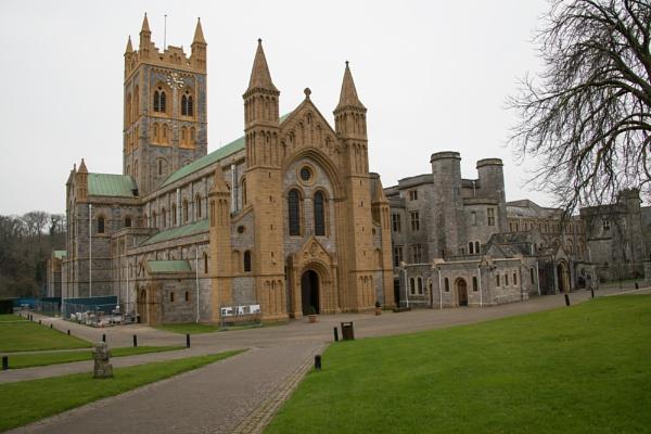 buckfast abbey by yamahaman