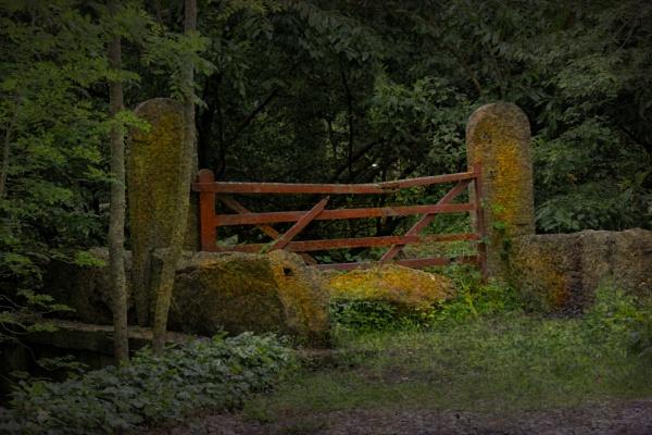 broken gate by tanglewoodplayer