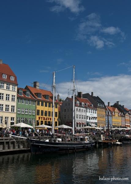 Nyhavn Canal,Copenhagen by boran