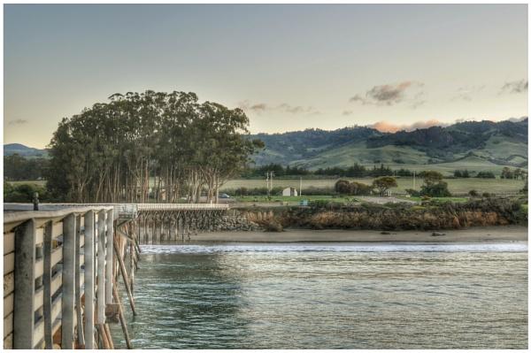 San Simeon Pier by jimmymctavish