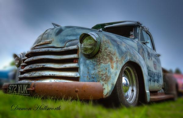 Chevy Pickup by DamonPaulHallsworth