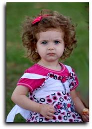 Küçük kız...