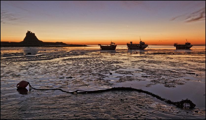 3 Boats at Dawn