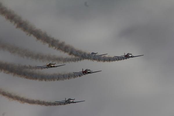 Warbirds Aerobatic Display by sidestep