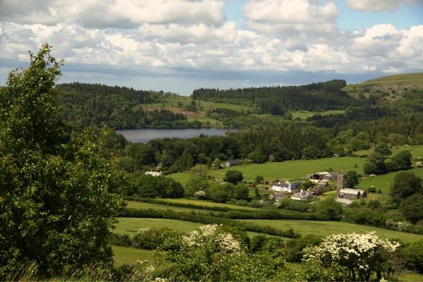 Sheepstor, Dartmoor 2 by LinBrennan