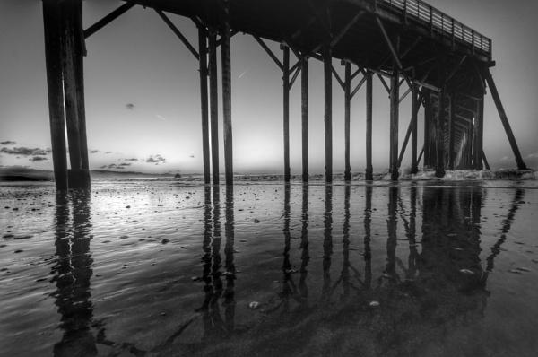 San Simeon Pier 3 by jimmymctavish