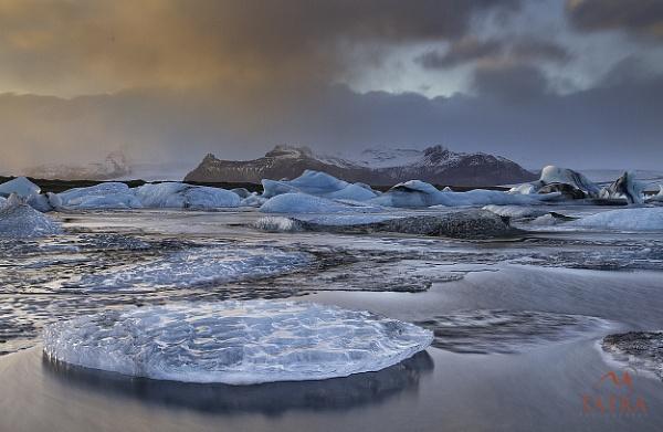 Iceland - Glacier - Lagoon - Jokulsarlon - Europe by TatraPhotography