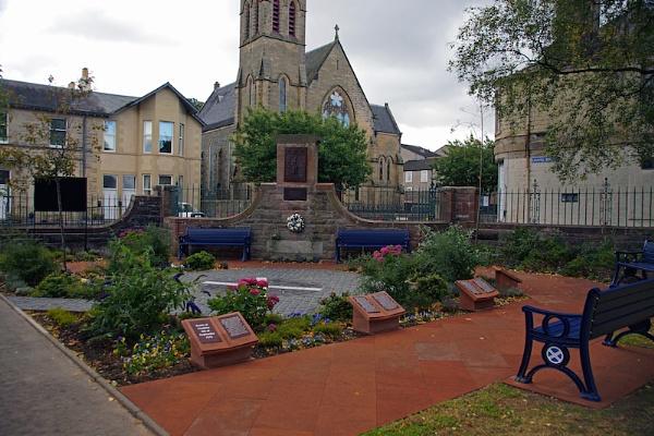 Memorial Garden by Souterman