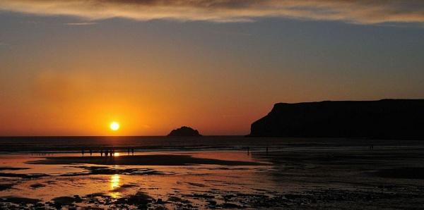 Polzeath Sunset 1. Nikon D300s. DSC_3200. by rpba18205