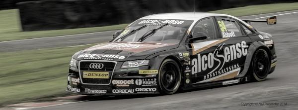 Alco Sense Audi at the BTCC at Oulton Park Cheshire. by b3ncp