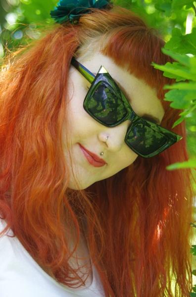 Jazzie, sunglasses and ummm me ! by pentaxpatty