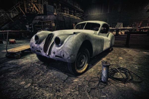 The Jaguar Restoration Shop. by Buffalo_Tom