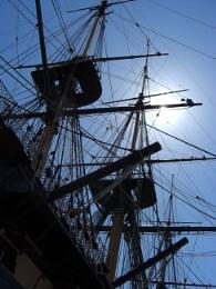HMS Victory's Rigging (now gone i'm afraid)