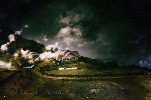 cloude on house by sarasij