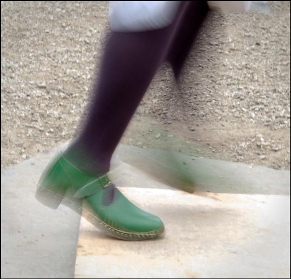 Dancing Feet by JawDborn
