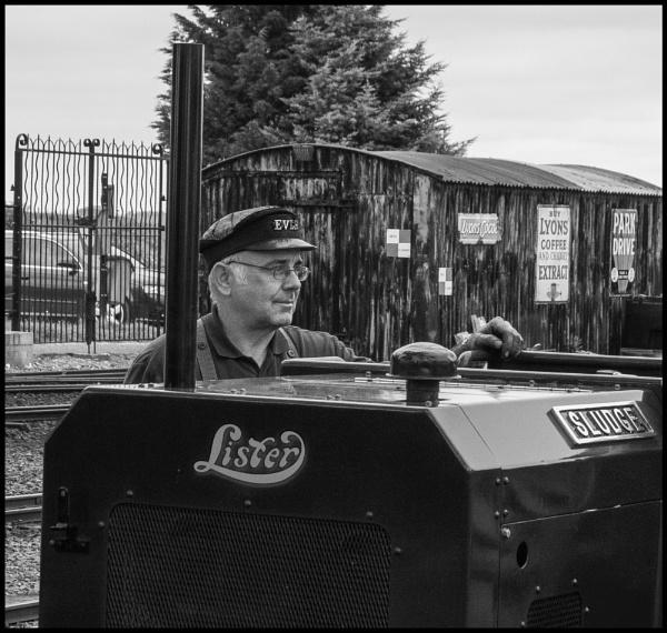 Railwayman by bwlchmawr