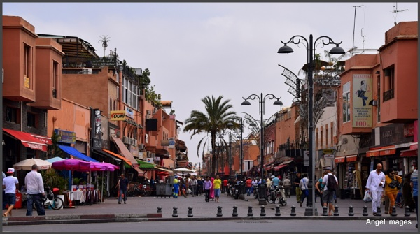 The streets of Marrakesh by ColleenA