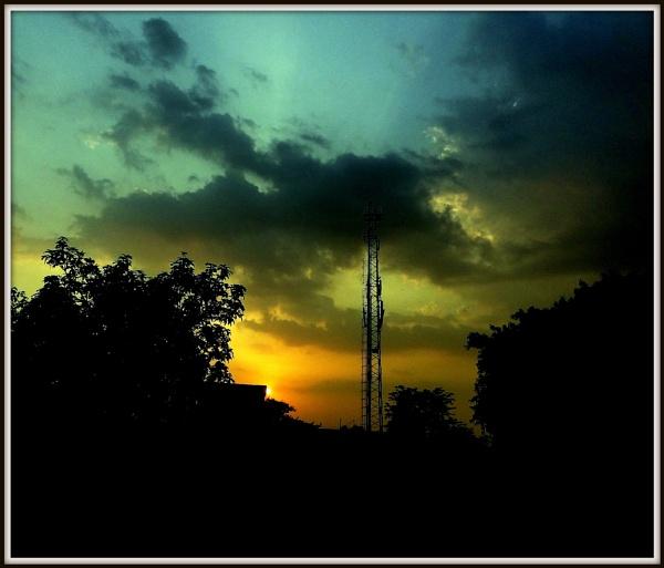 Stormy Colors: 2 by IshanPathak