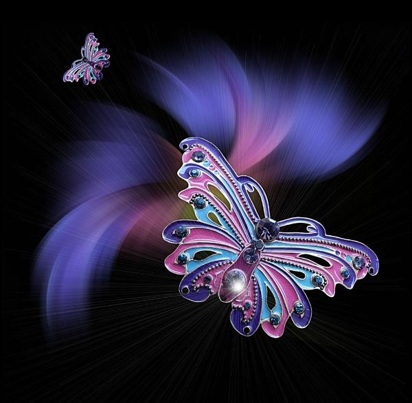Butterfly Fantasy 5 by pamelajean