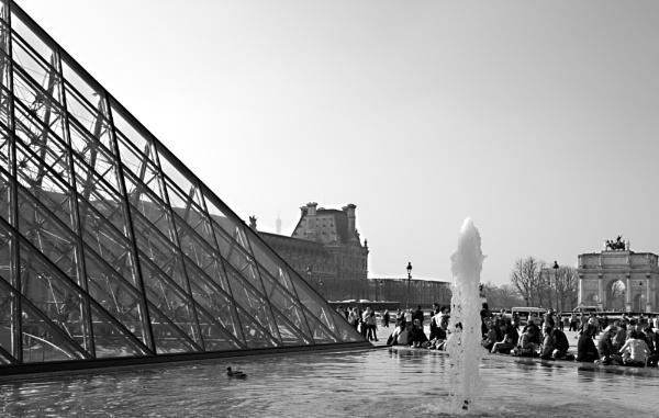 Eiffel Tower Peek-A-Boo by AJG